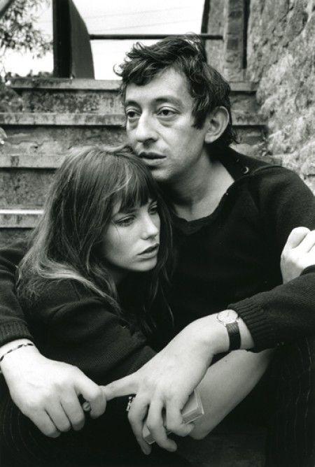 Com Serge Gainsbourg teve uma relação super apaixonada e criativa.