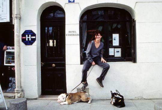 Jane e a bolsa da Hermès que levou seu nome e virou um clássico da marca.